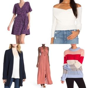 Nordstrom Bundle Box Dress Xsmall XS Women $350